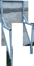 кронштейн крепления мусоропровода балконный